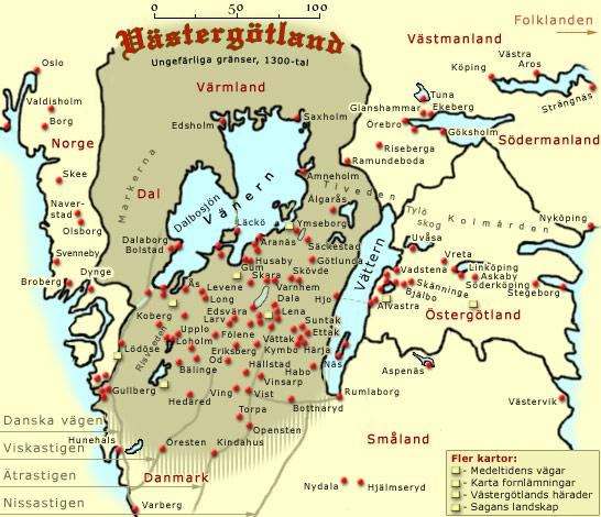 Vastergotlands Historia