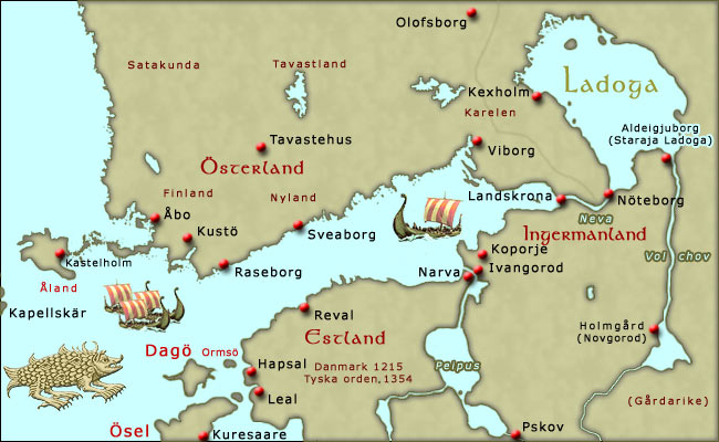 sverige och finland karta Karta över Finland sverige och finland karta