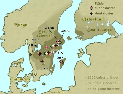 karta sverige och danmark Karta över Sverige karta sverige och danmark